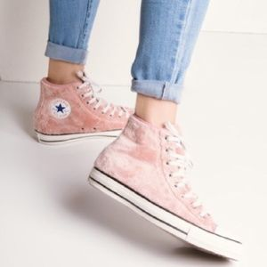 New Converse chuck taylBraor all🌟 rose pink faux